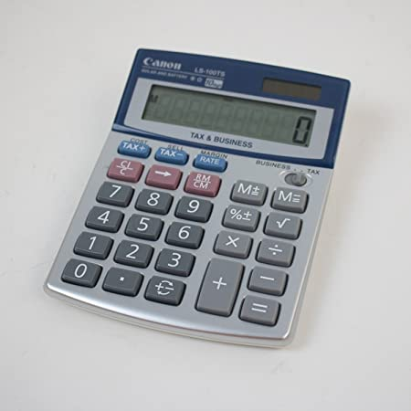 amazon com canon office products ls 100ts business calculator