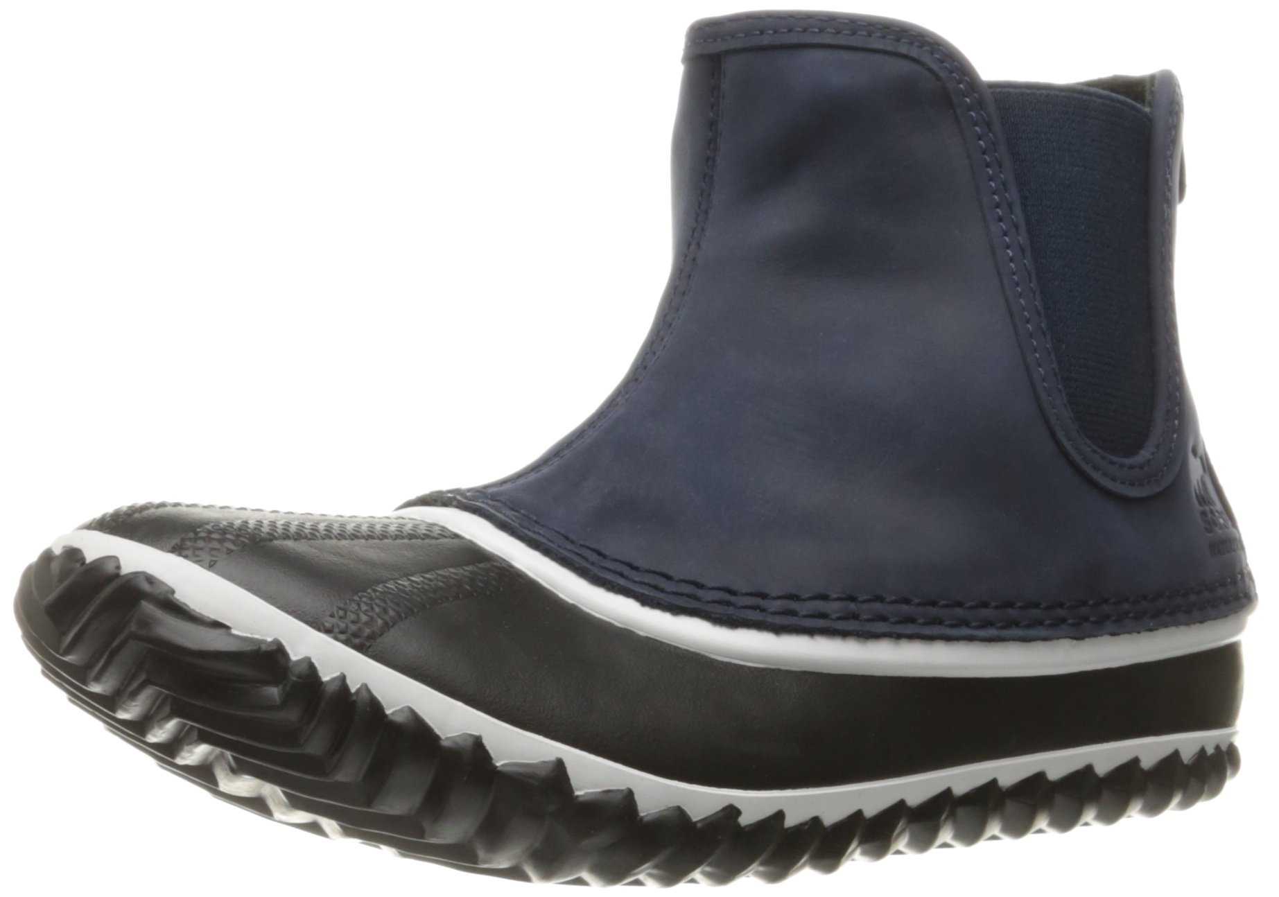 SOREL Women's Out N About Chelsea-W Cold Weather Boot, Collegiate Navy, 6.5 B US