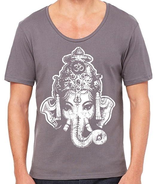 Amazon.com: Yoga ropa para usted para hombre Ganesha playera ...