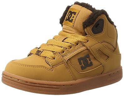 DC Shoes Rebound WNT, Sneakers Basses Garçon, Marron (Wheat), Marron (Wheat) - 39 EU - 6UK