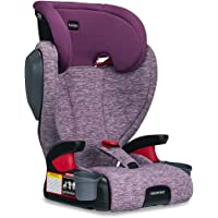 Britax Highpoint Highback Belt-Positioning Booster Car Seat | 3 Layer Impact Protection - 40 to 120 Pounds, Mulberry