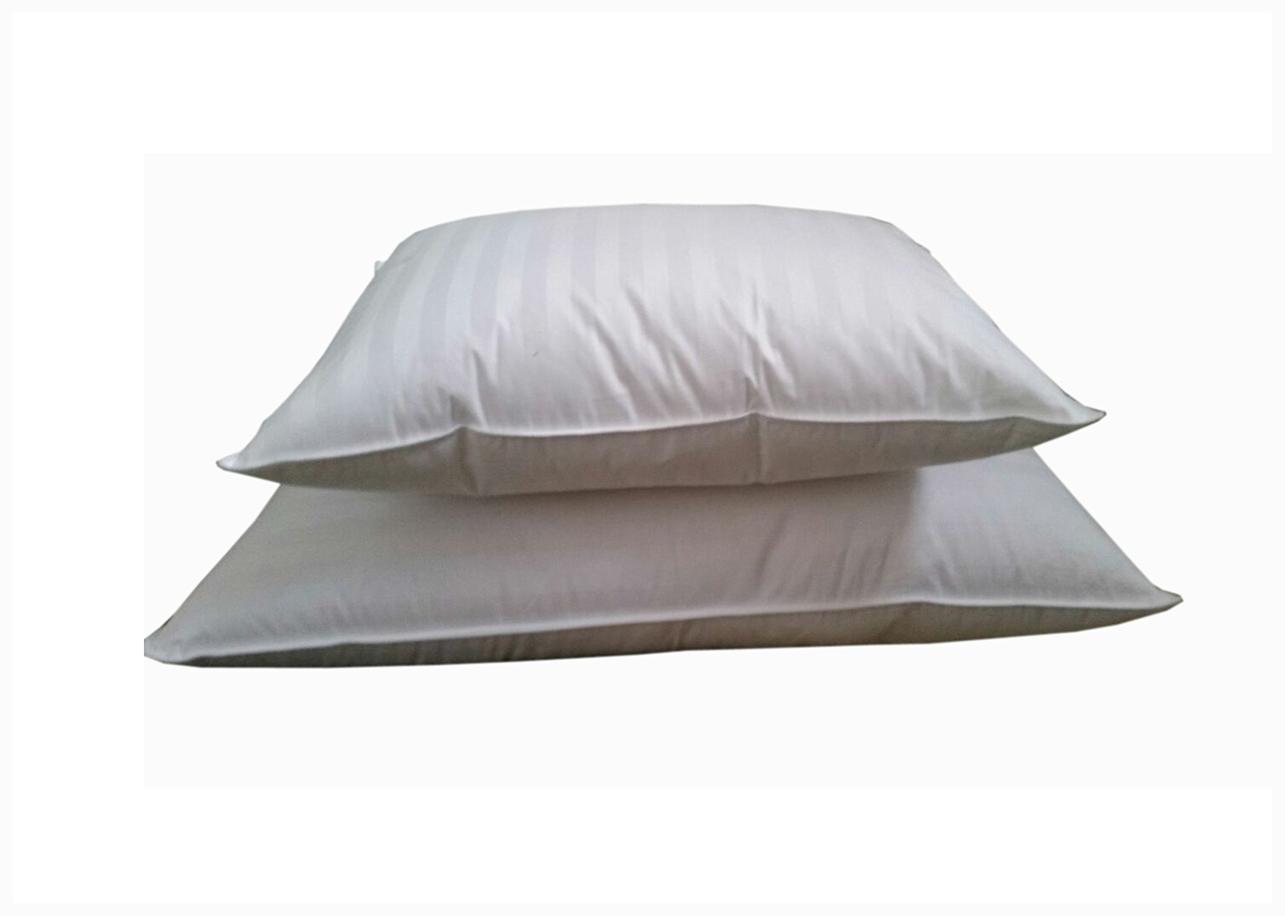 Set of 2-superior 100% Down 700 Fill Power Hungarian White Goose Down Pillow. Queen Size