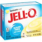 Jell-O Sugar-Free Lemon Instant Pudding Mix 1 Ounce Box (Pack of 6)