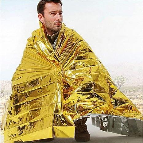 Kingsea oro//argento coperta per primo soccorso 5 coperte di salvataggio//emergenza 5 pezzi coperta di pronto soccorso