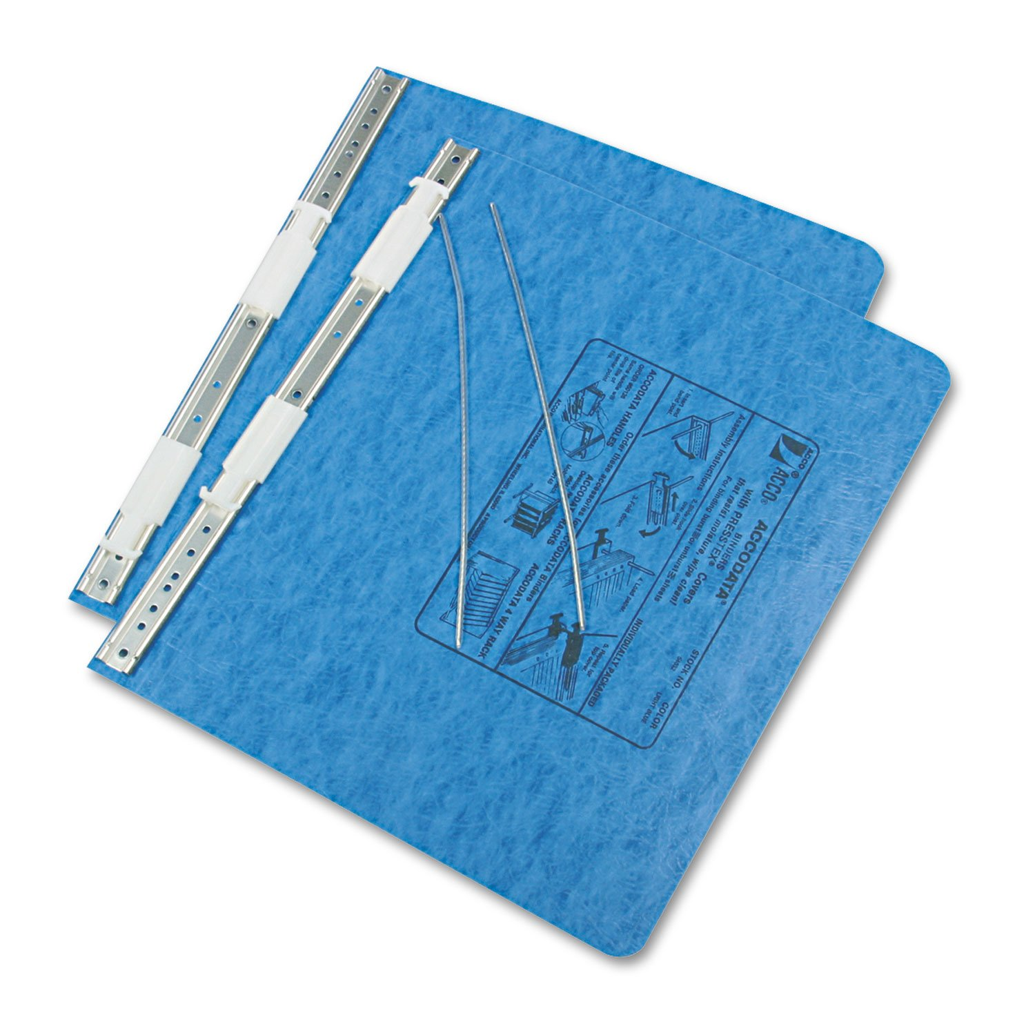 ACCO 54032 Data Processing Binder, 6'' Cap, 11-3/4''x8-1/2'', Light Blue by Office Realm (Image #2)