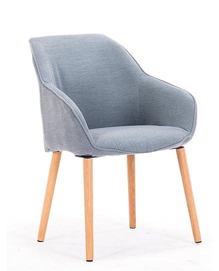 KAYELLES Chaise à accoudoirs DITA, Petit Fauteuil Visiteur style ...