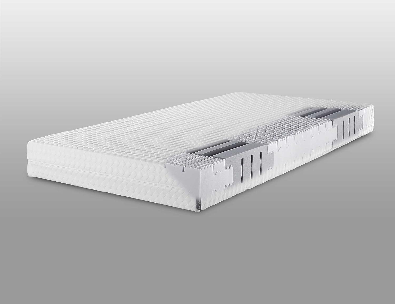 Lattoflex Matratze Sensiv mit Jersey-J Bezug, softiger Kern für besonders zierliche oder leichtgewichte Menschen (120 x 200 cm)