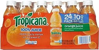 product image for Tropicana 100% Orange Juice, 10 oz, 24 ct