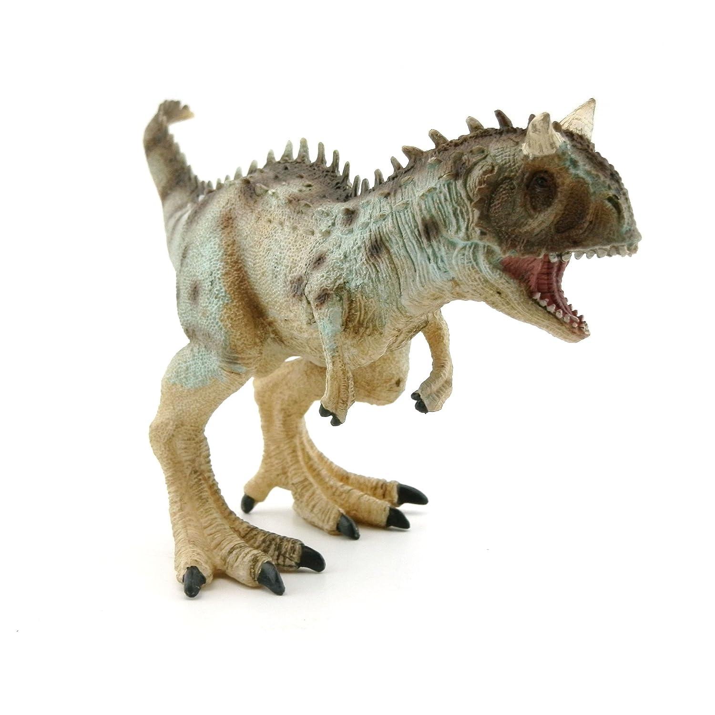 Baidecor Carnotaurus Dinosaur Toys Action Figure Gray