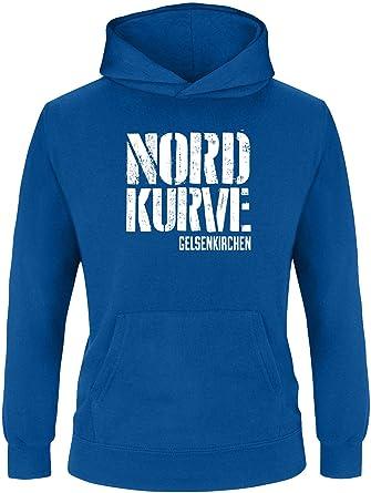 Nordkurve auf Schalke Damen Hoodie | Damen Kapuzenpullover | Damen Pullover