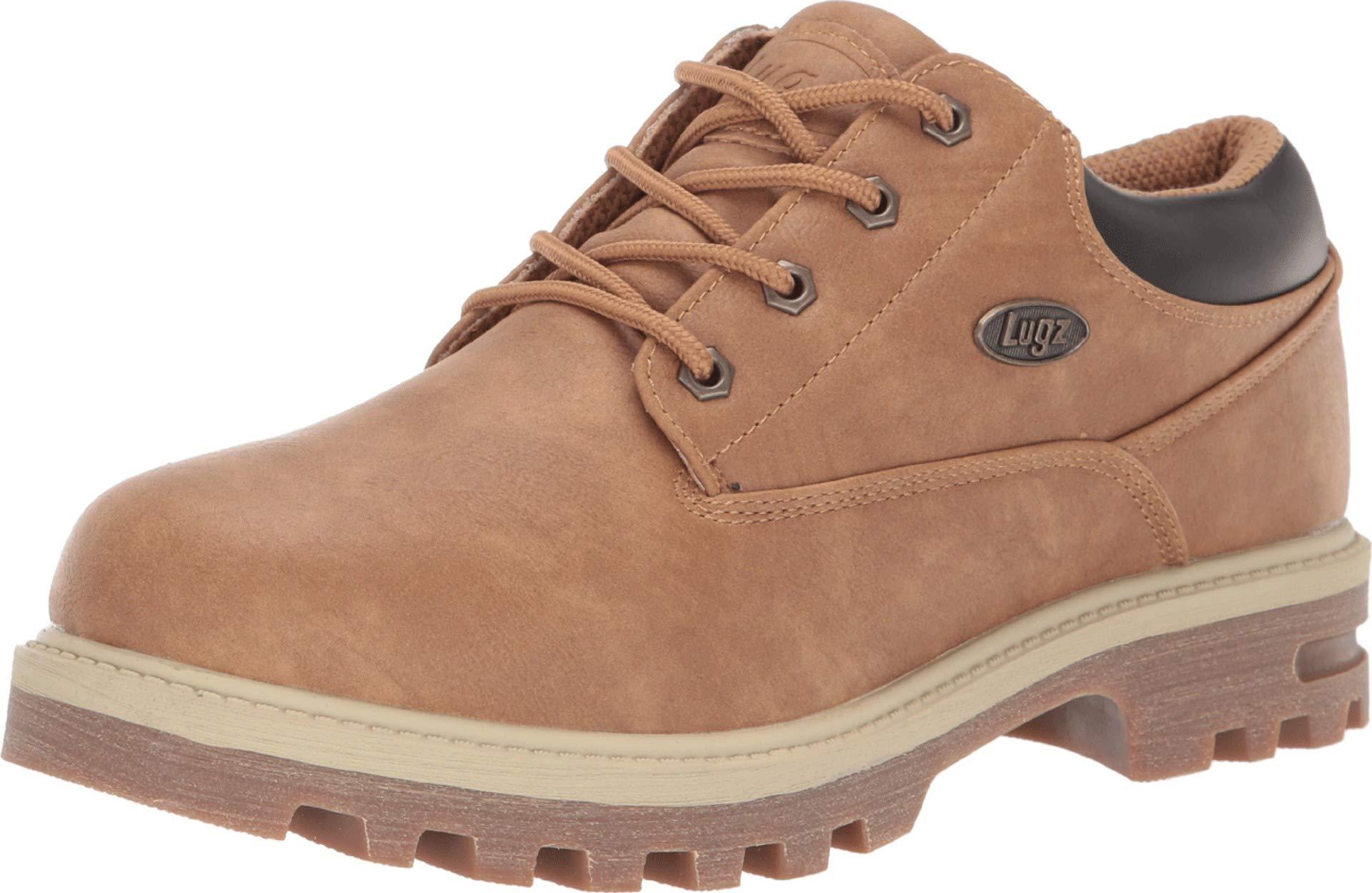 Lugz Men's Empire Lo WR Oxford Boot, Autumn Wheat/bark/Cream/Gum, 10.5 D US by Lugz