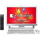 東芝 21.5型デスクトップパソコンdynabook D51/UW リュクスホワイト(Office Home&Business Premium プラス Office 365) PD51UWP-SWA