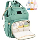 Royaliya Baby Diaper Backpack Bag Nappy Changing Bags Multi-Function Waterproof Travel Organizer Mini Portable Large Capacity Tote Shoulder Bags Handbag Baby Care for Mom Dad