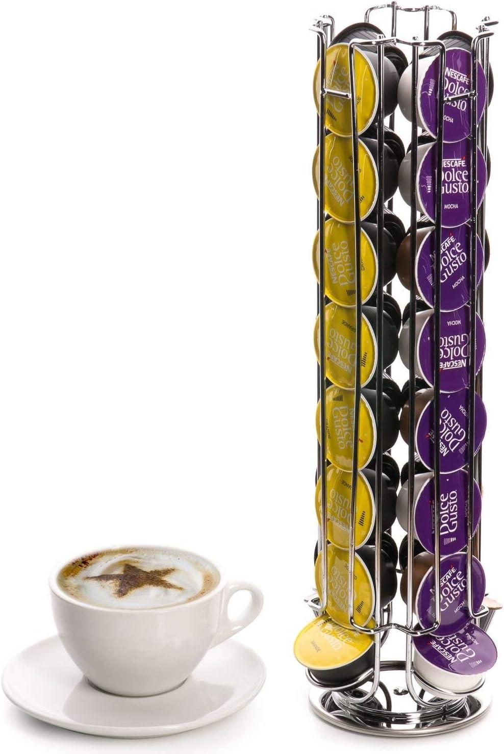 Eastern Corridor-EU - Soporte giratorio para 24 cápsulas de café ...