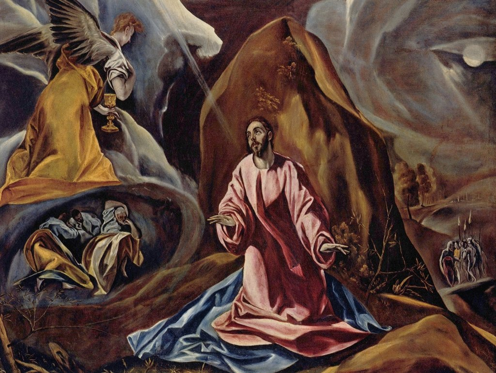 Lais Puzzle El Greco - Cristus am Ölberg 2000 Teile