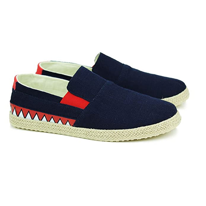 Amazon.com | New Men Shoes Casual Shoes Spring Summer Canvas Casual Shoes Men Loafers Zapatillas Hombre Casual Zapatos | Loafers & Slip-Ons