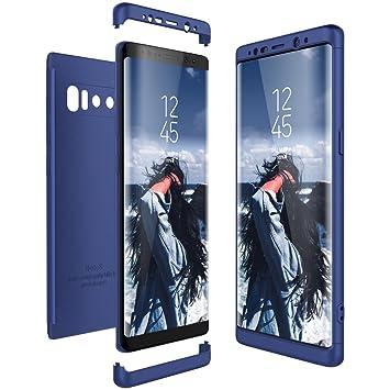 CE-Link Funda Samsung Galaxy Note 8, Carcasa Fundas para Samsung Galaxy Note 8, 3 en 1 Desmontable Ultra-Delgado Anti-Arañazos Case Protectora - Azul