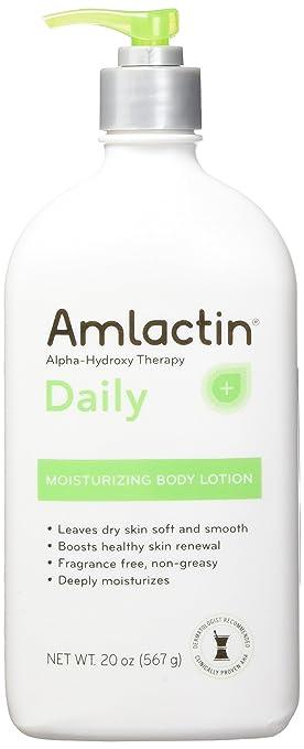 amlactin 12% moisturizing lotion