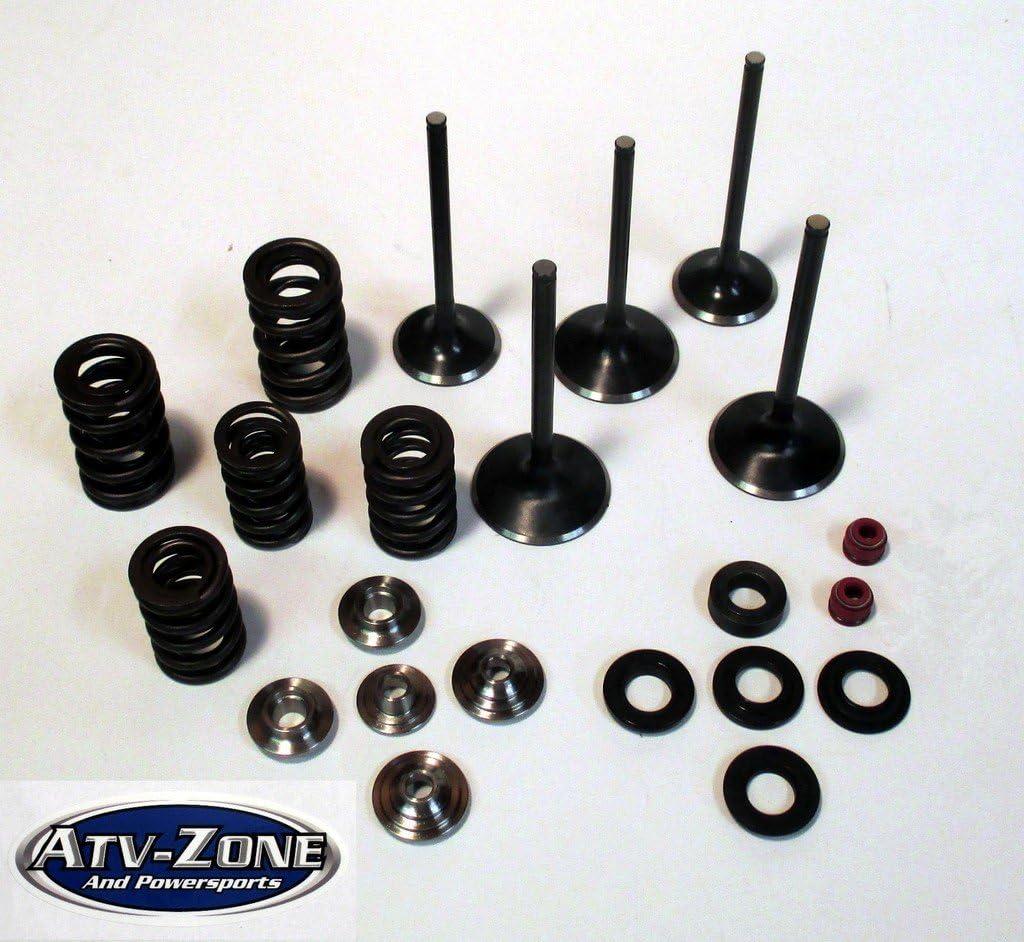Yamaha YFZ 450 2004–2009 Pro X Steel Exhaust Valve//Spring Kit