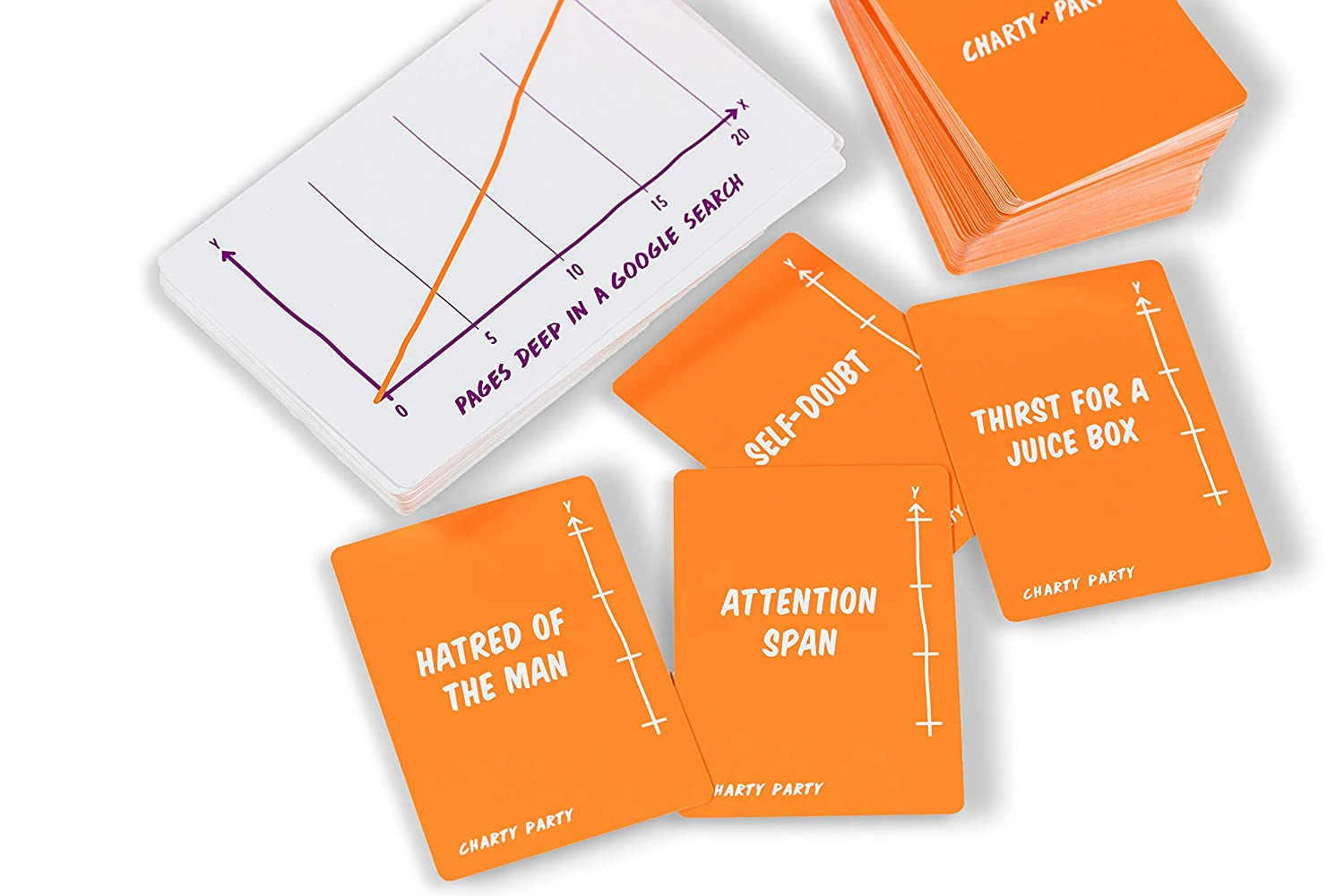 and Data Visualization Graphs Charty Party The Adult Card Game of Absurdly Funny Charts