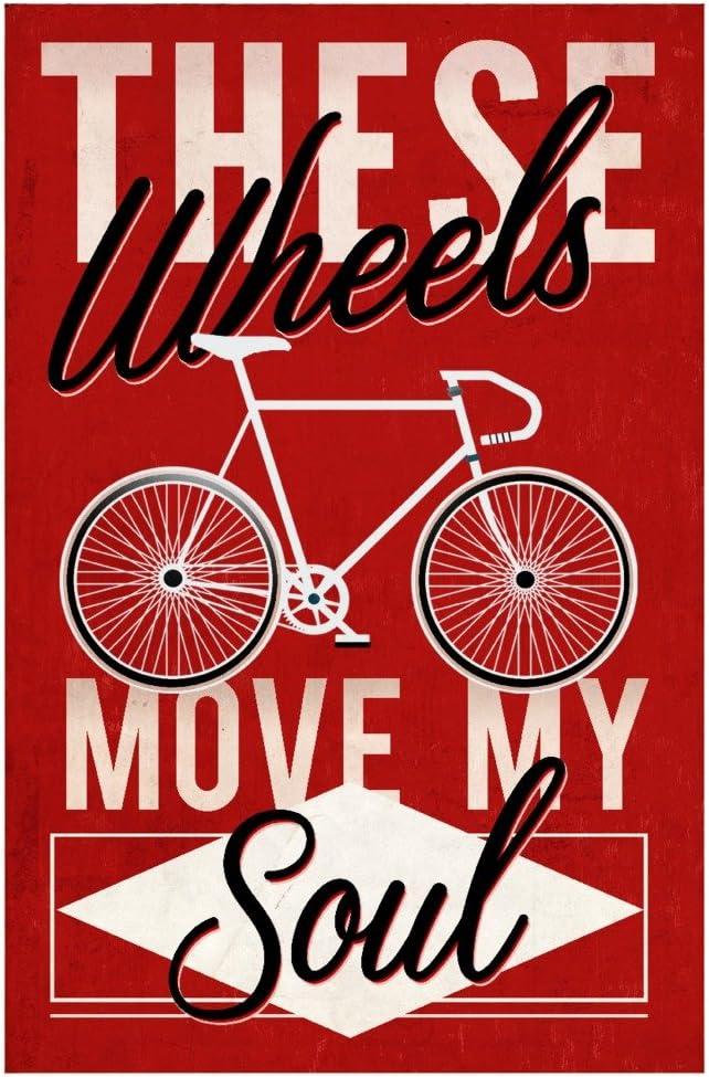 Ciclismo se mueve mi alma – serigrafiada estilo (calidad algodón/poliéster de chef delantal): Amazon.es: Hogar