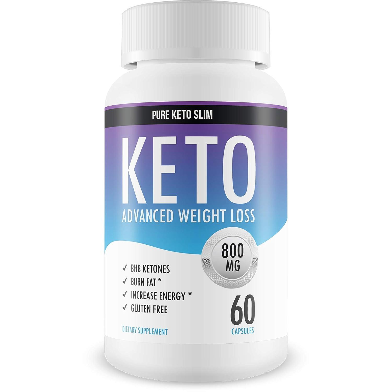 Pure Keto Slim Keto Diet Pills Exogenous Ketones Help Burn Fat Weight Loss Supplement To Burn