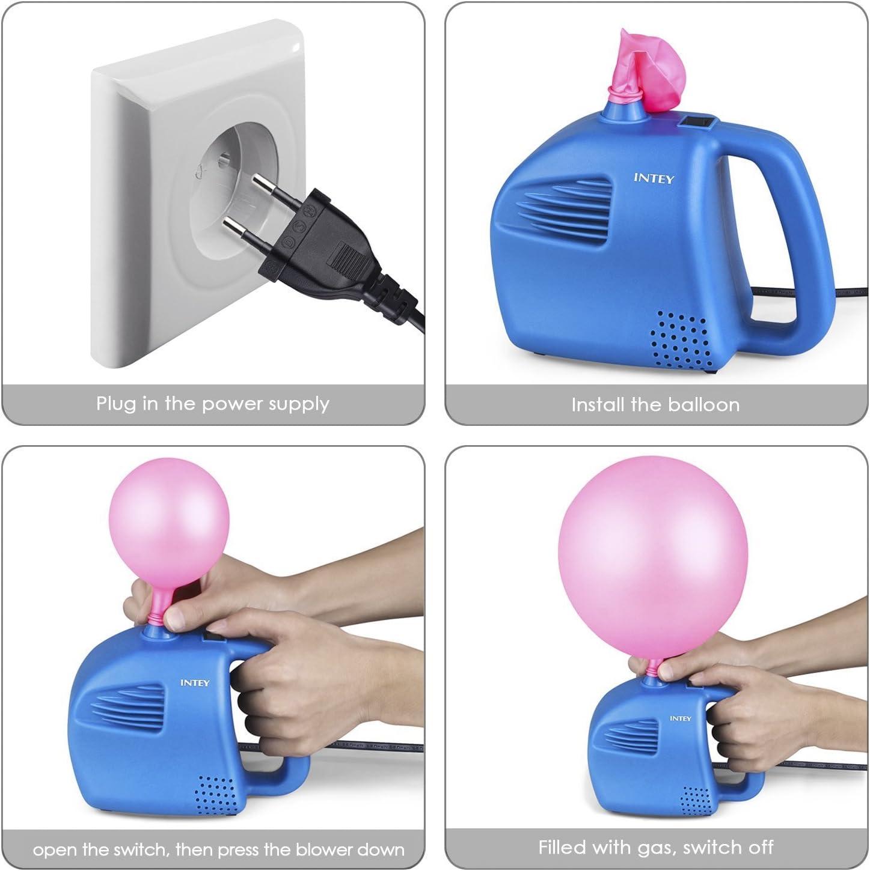 Hochwertige Profi-Luftballonpumpe 20 Luftballons aus 100/% Latex Neu !