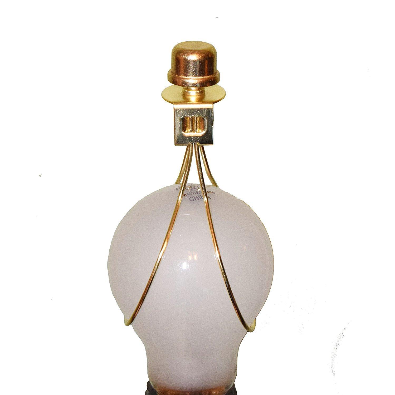 Ikea Lamp Shade Adapter: Creative Hobbies 2 Pack -Lamp Shade Light Bulb Clip