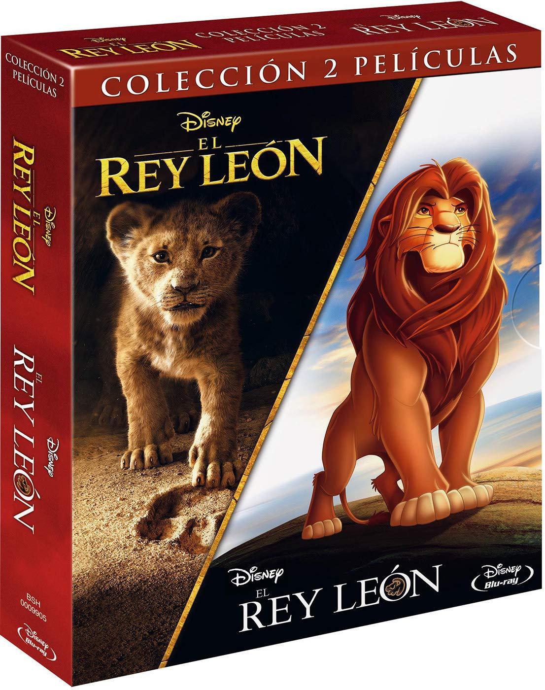 Pack BD: El Rey León clásico + El Rey León imagen real Blu-ray ...