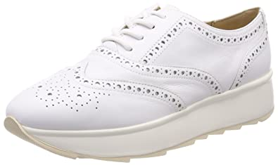 26d9d03bd7 Geox Francesina Low Wedge to White Women Article D825TA 00085 C1000 D C  GENDRY New Spring Summer