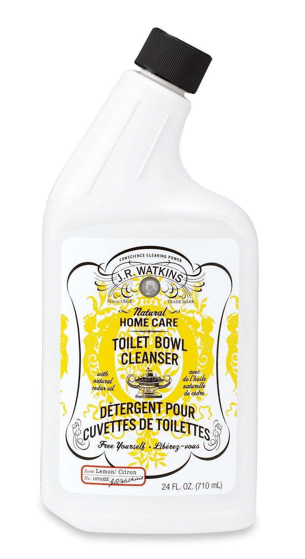 J.R. Watkins Toilet Bowl Cleanser, Lemon, 24 Fluid Ounce