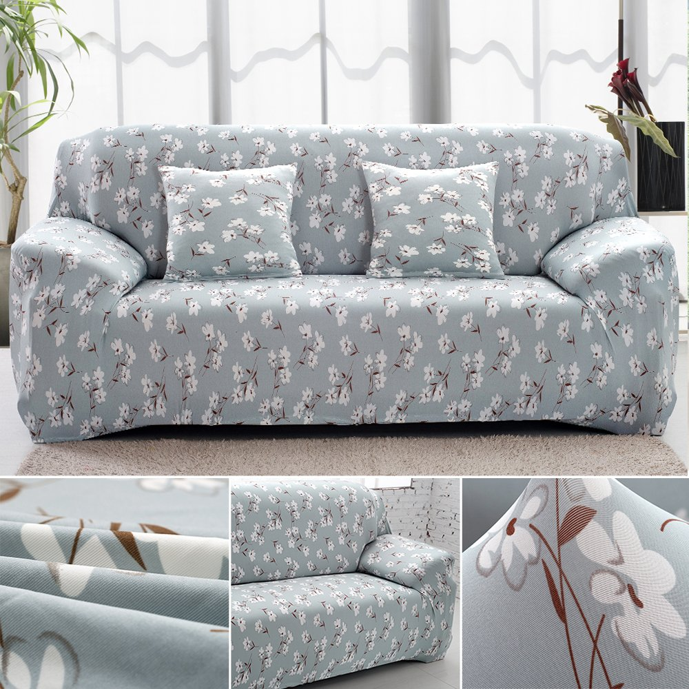 3 Seater Sofa Cover Couch Slipcover Elastic Fabric Couch Cover Settee Protector littleduckling