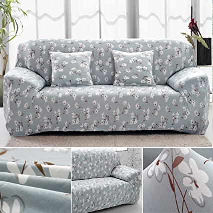 3 Seater Sofa Cover Couch Slipcover Elastic Fabric Couch Cover Settee  Protector