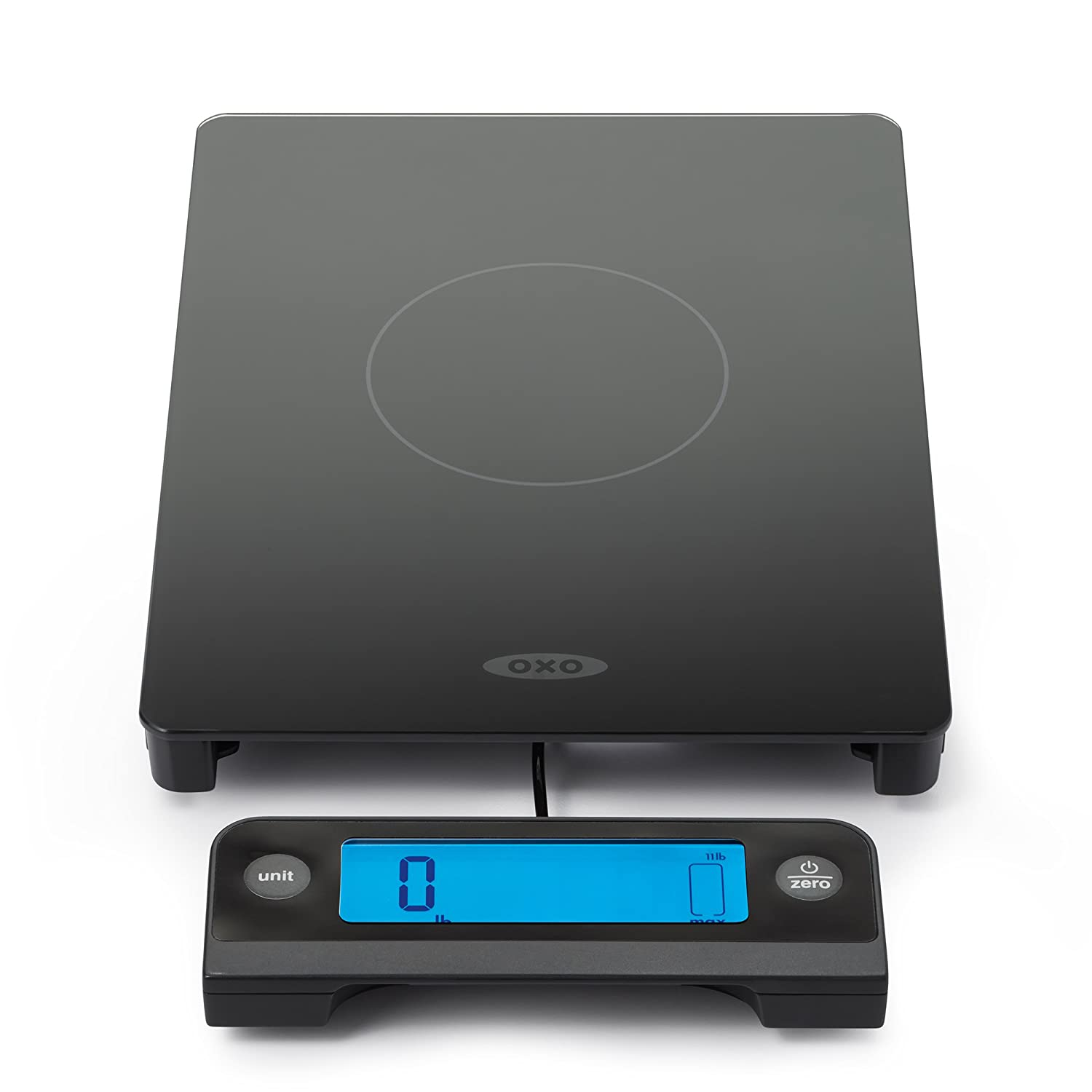 OXO Good Grips Glass Scale with Pull Out Display, Black 11176800