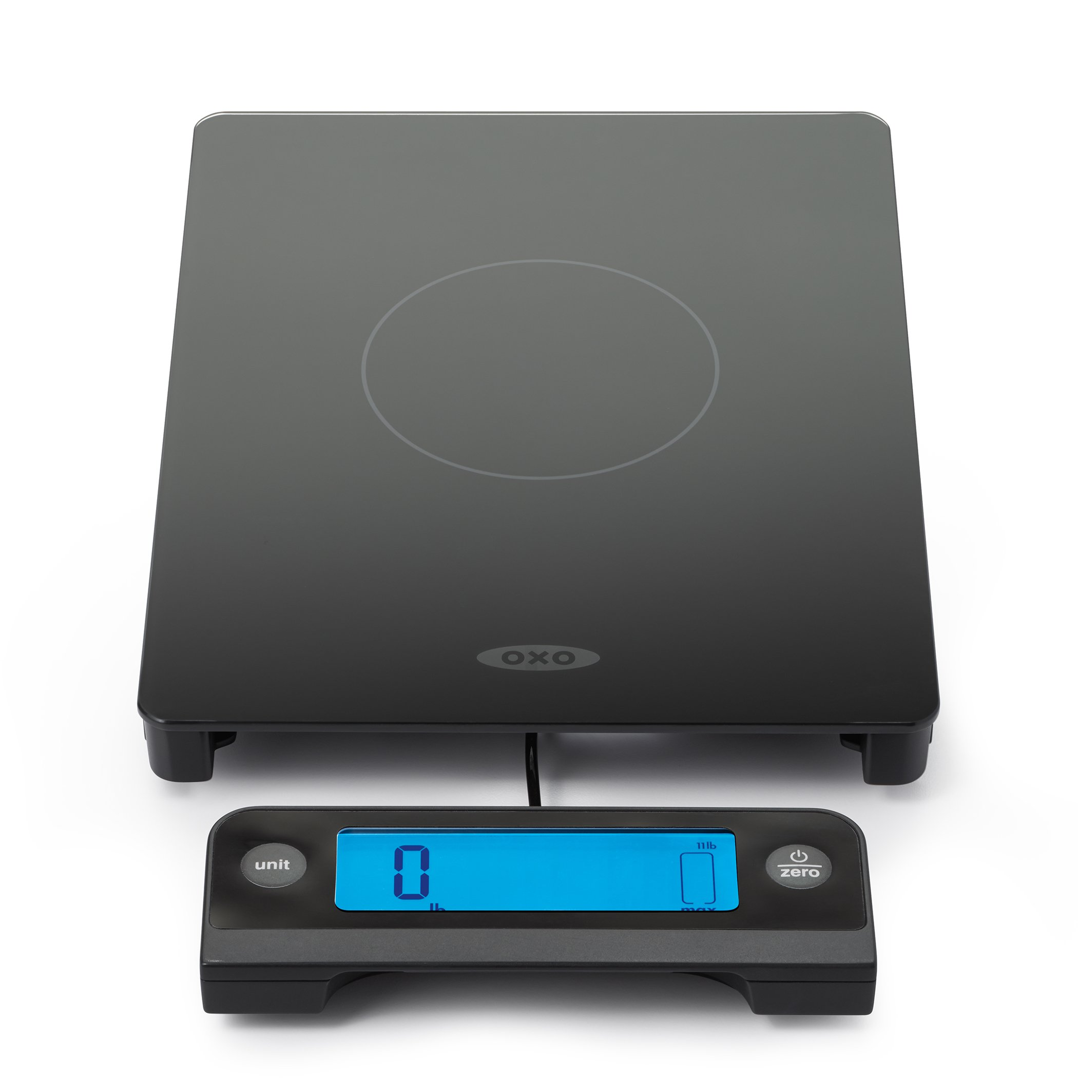 OXO Good Grips 11 Lb Glass Scale with Pull-Out Display by OXO
