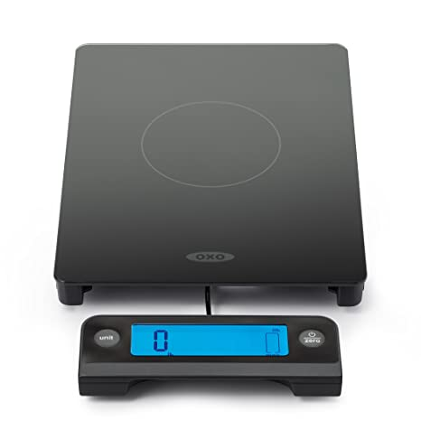 Oxo Good Grips 11 Lb Glass Scale With Pull Out Display