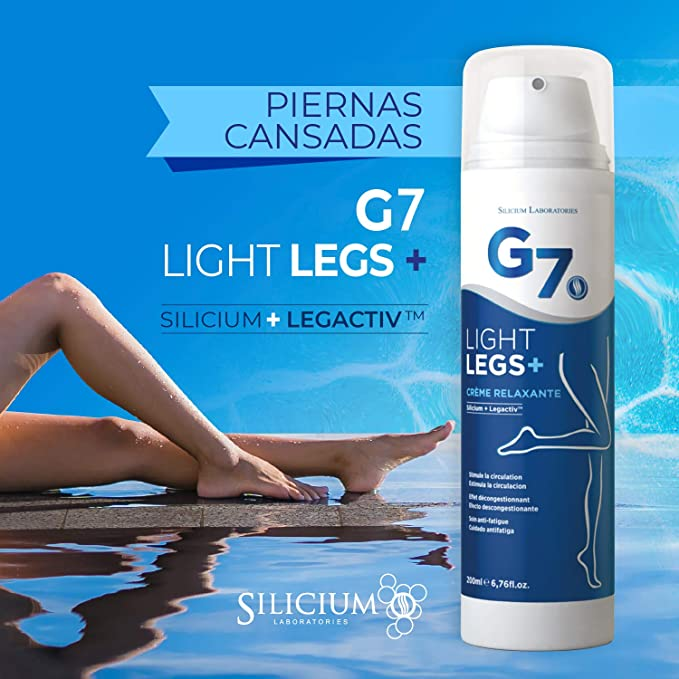 SILICIUM G7 Light-Legs | Crema ideal para varices y piernas ...