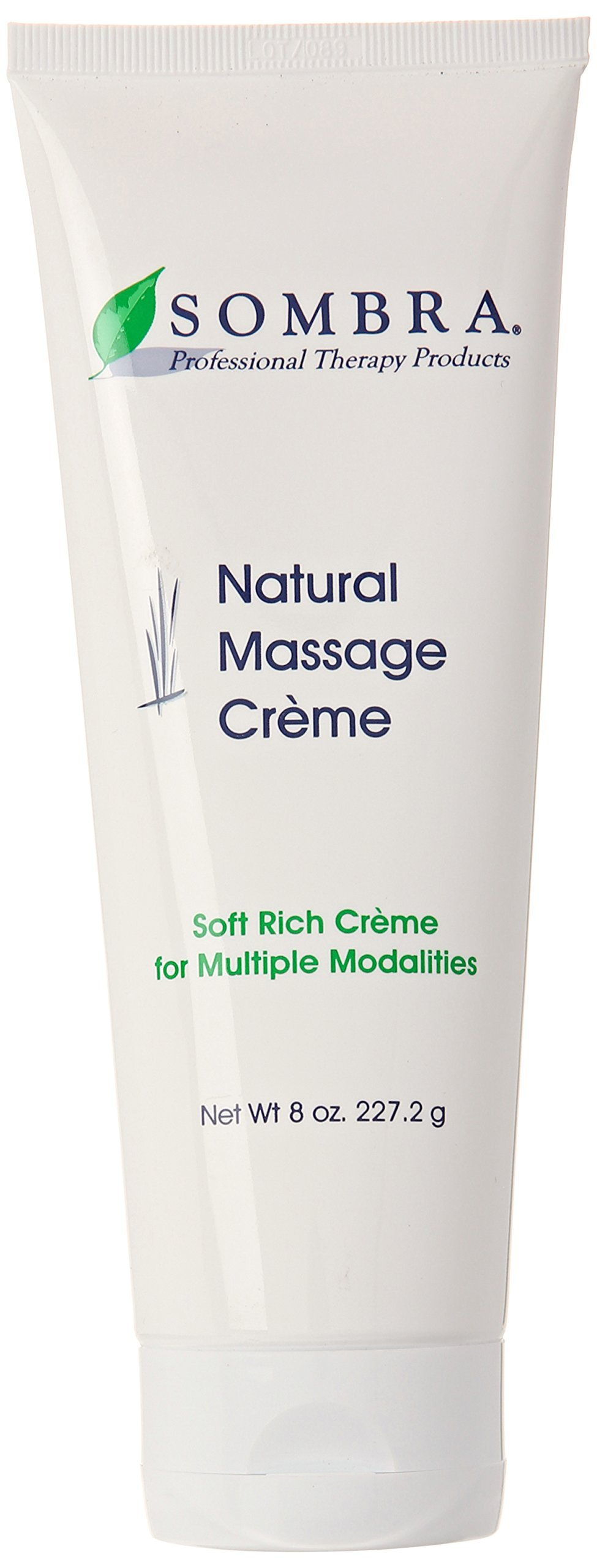 Sombra Natural Massage Creme, 8-Ounce