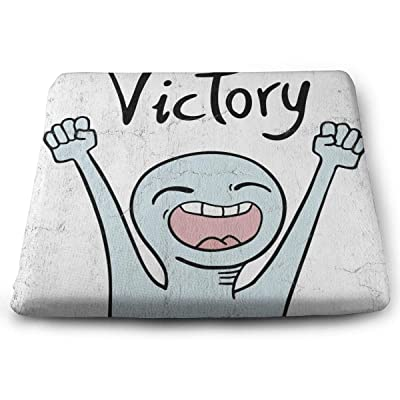 """Osvbs Victory Message Decorative Cushion 1.2"""" × 13.8"""" × 15.0"""" for Home Office Dinning Chair Solid Color Indoor Outdoor: Home & Kitchen"""