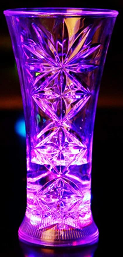 aibote agua líquido activado luz tazas cambio de color luces LED ...