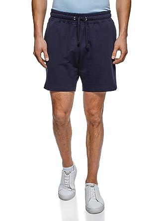 oodji Ultra Herren Baumwoll-Shorts mit Bindebändern  Amazon.de  Bekleidung 62acb4821b