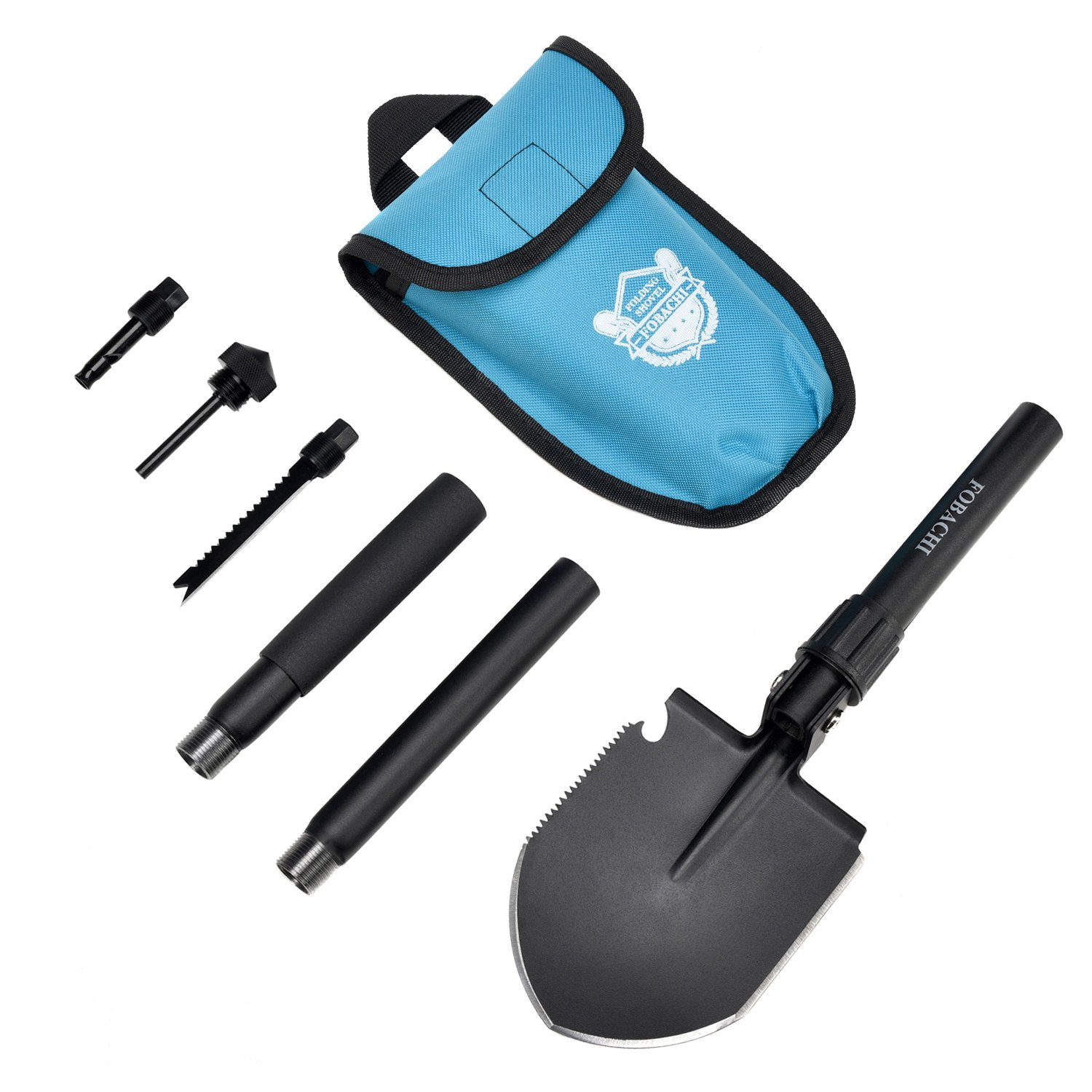 Military Survival Folding Shovel and Pick