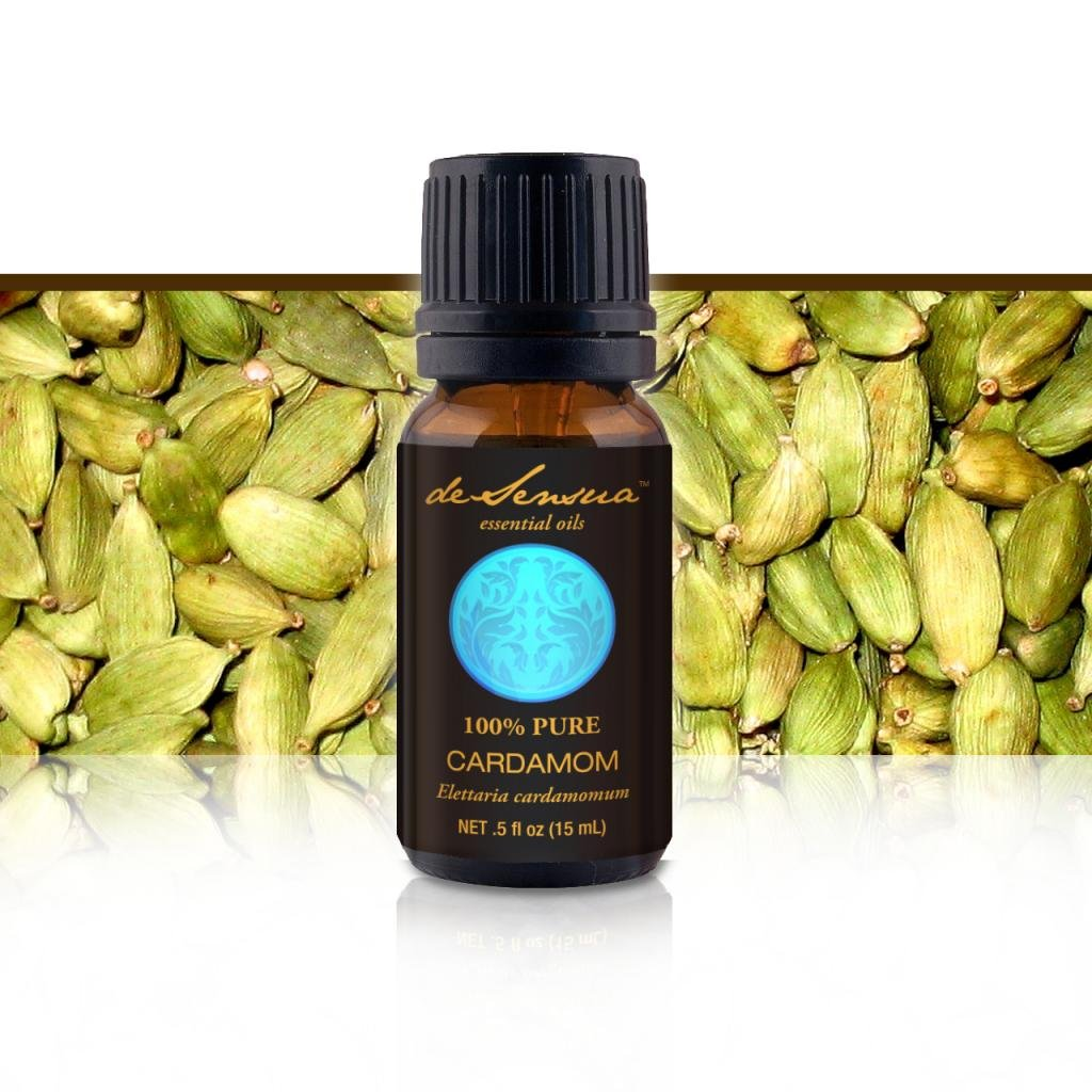 Cardamom Essential Oil - 100% Pure, 15 ml