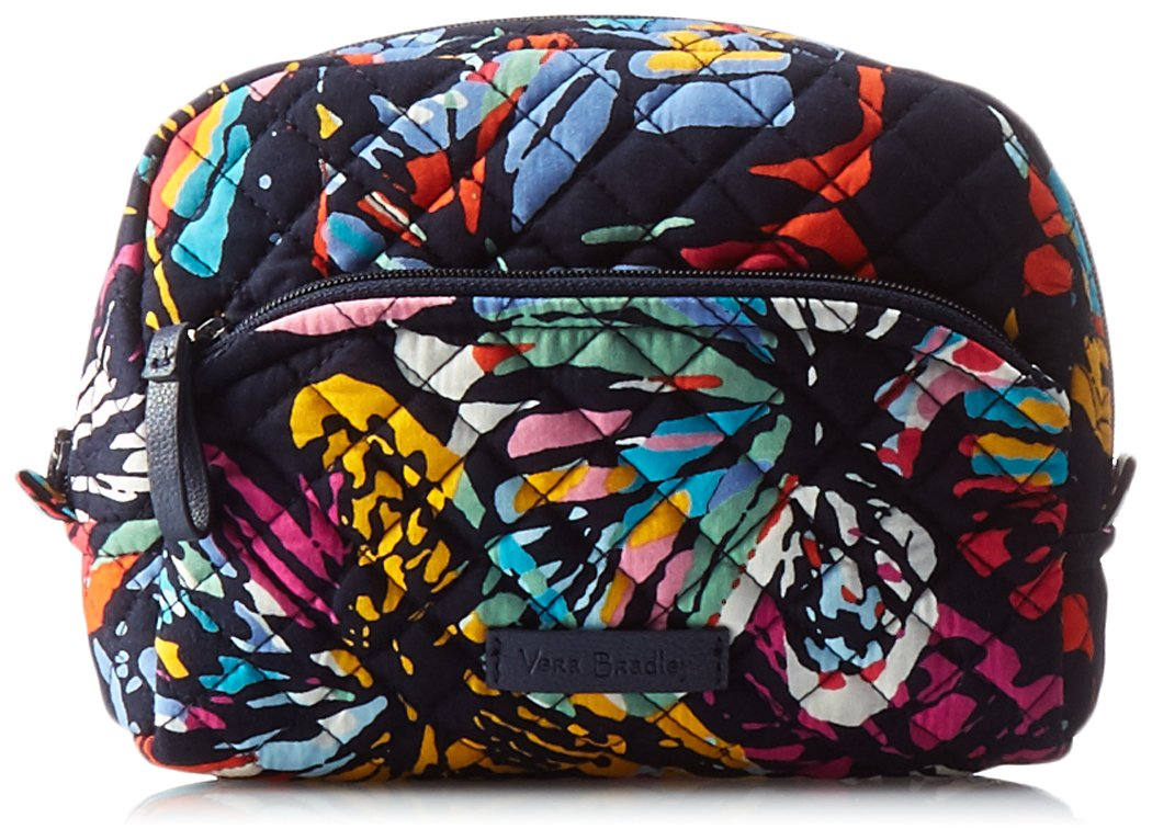 Vera Bradley Iconic Medium Cosmetic, Signature Cotton Butterfly Flutter 22518-I81