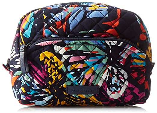 2b707547d25a Amazon.com  Vera Bradley Iconic Medium Cosmetic
