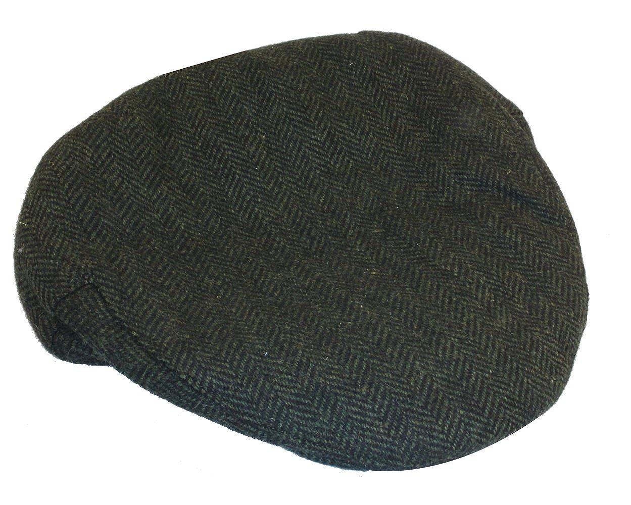 Shandon Irish Tweed Flat Cap Dark Green 100% Wool (Medium) at Amazon Men s  Clothing store  bcbde0fb9cc
