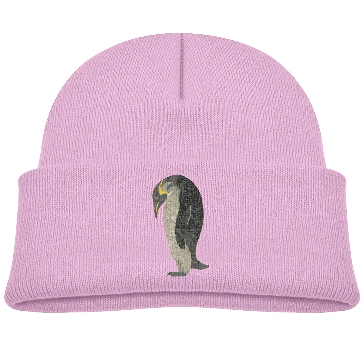 Childrens Lovely Knitted Hat Floral Flamingo Kintting Hat