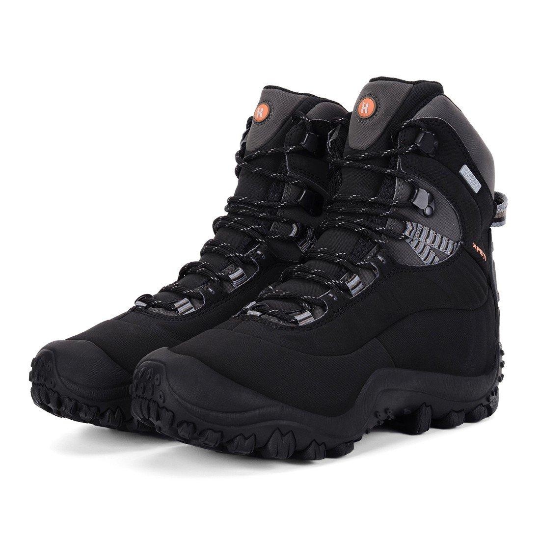 XPETI Women's Waterproof Mid B079DLLP3J High-Top Hiking Outdoor Boot B079DLLP3J Mid 9 M US|Black 41d3f7