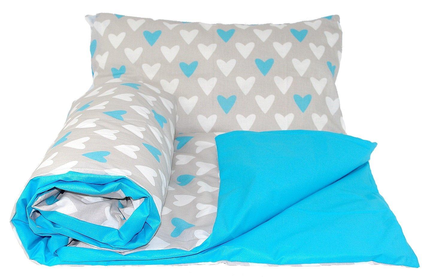 150x120cm for junior beds, 21 Babys Comfort REVERSIBLE 2pcs baby bedding set DUVET// QUILT COVER PILLOWCASE