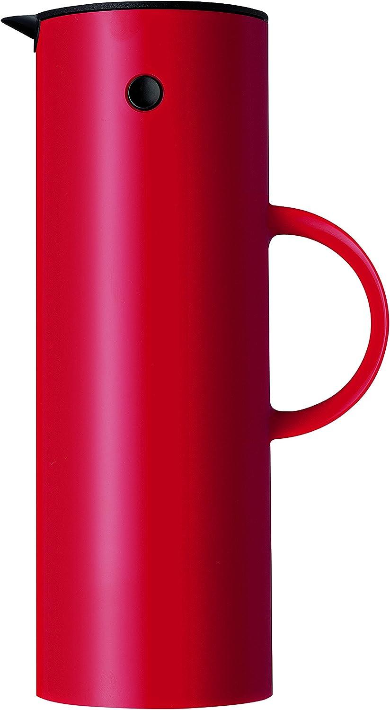 Stelton EM77 Vacuum Jug, 33.8 oz, red